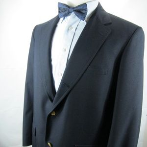 Brooks Brothers Blazer Brass BB Buttons 42 R Wool